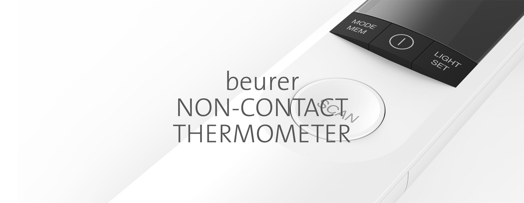 beurer non contact thermometer header
